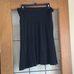 Motherhood maternity knit skirt